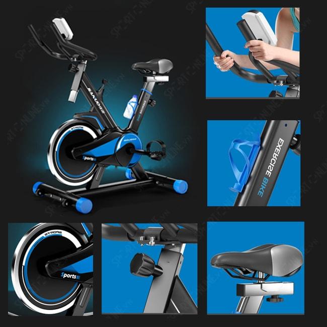 Xe đạp tập thể dục Spin Bike JN55 4