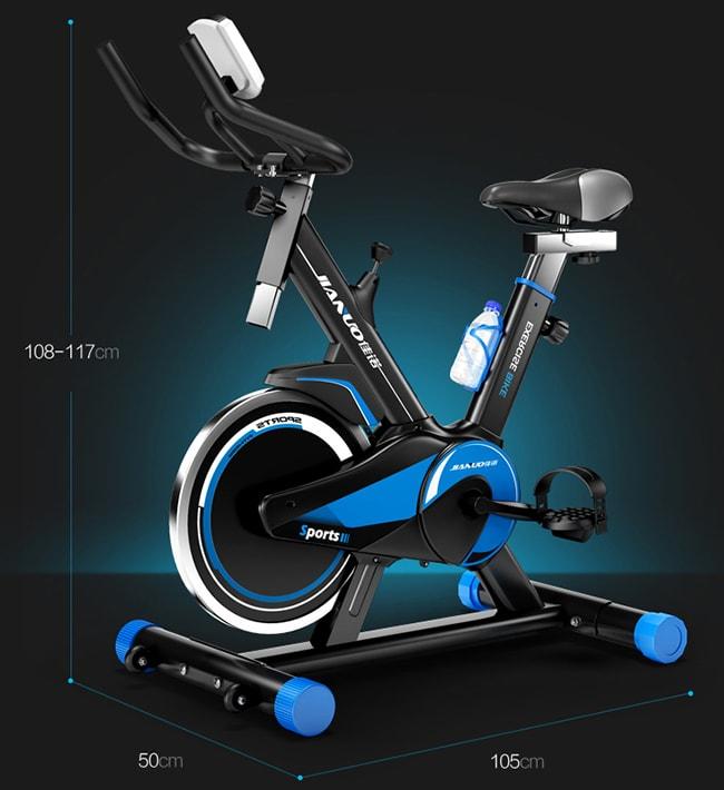 Xe đạp tập thể dục Spin Bike JN55 2