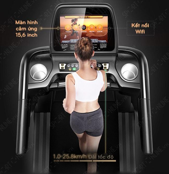 Máy chạy bộ phòng Gym HQ-888