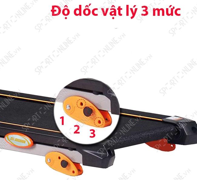 Máy chạy bộ điện DV-558