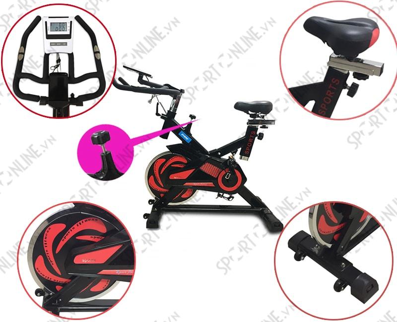 Xe đạp tạp thể dục YB-7800