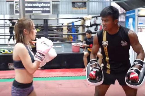 Tập luyện Muay Thái