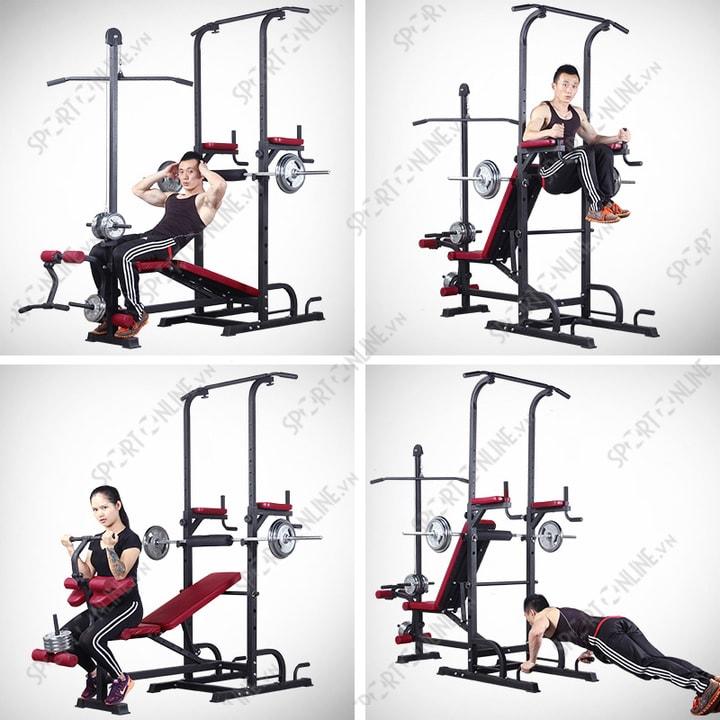 Ghế tập gym đa năng 2016