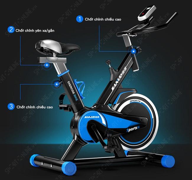 Xe đạp tập thể dục Spin Bike JN55 5