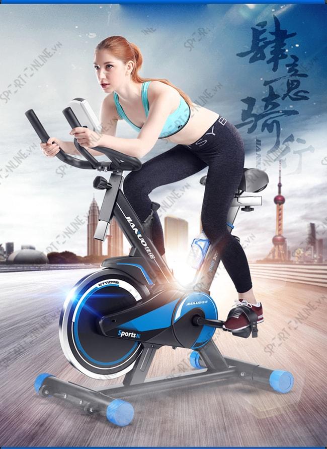 Xe đạp tập thể dục Spin Bike JN55 1