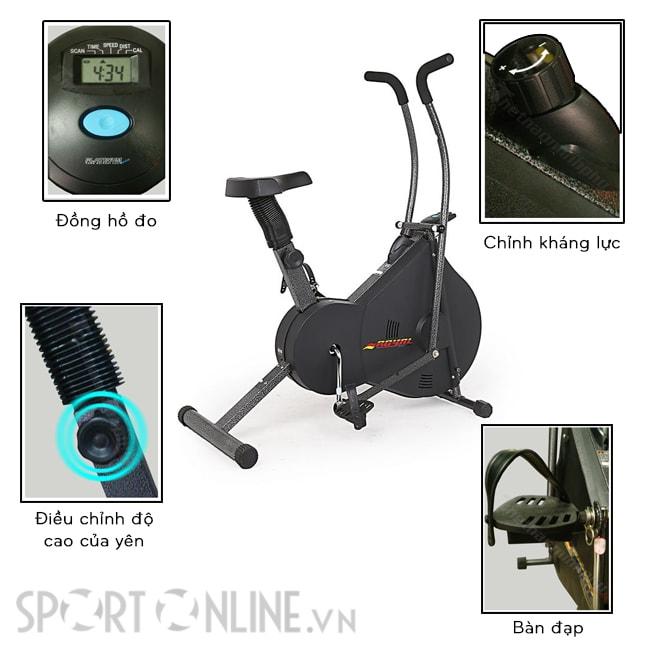Xe đạp tập thể dục Royal 963 3