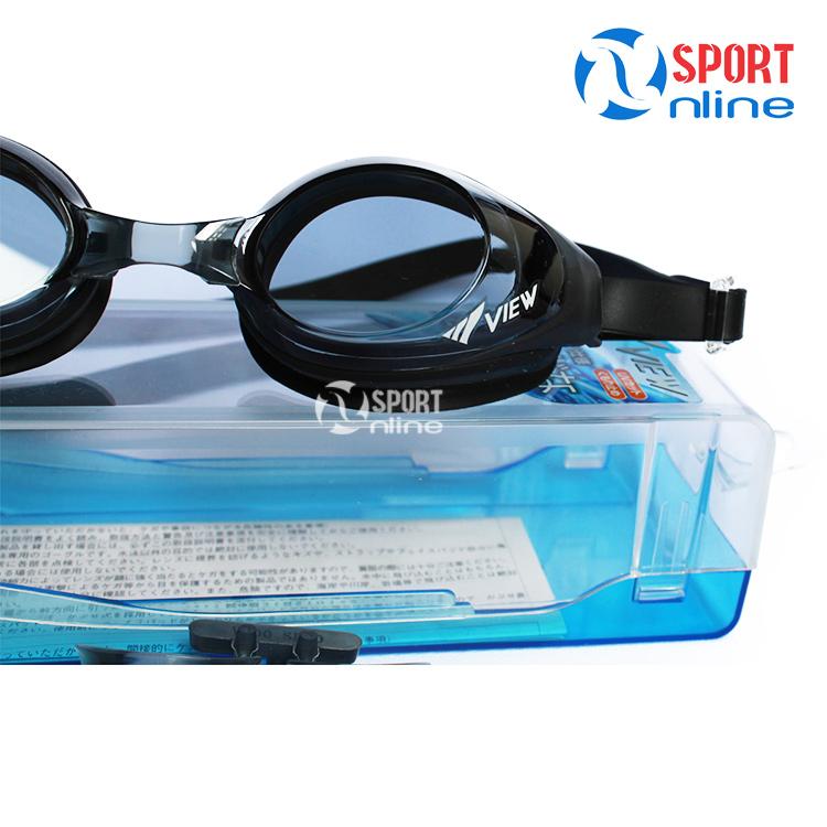 kính bơi View V610 màu đen