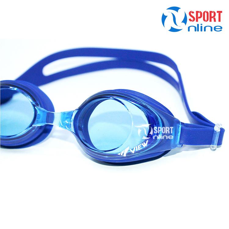 kính bơi View V610 màu xanh đậm