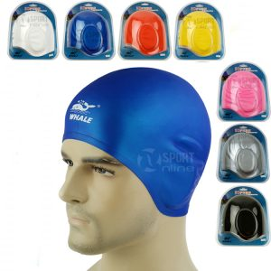 Mũ bơi che tai 3D WHALE