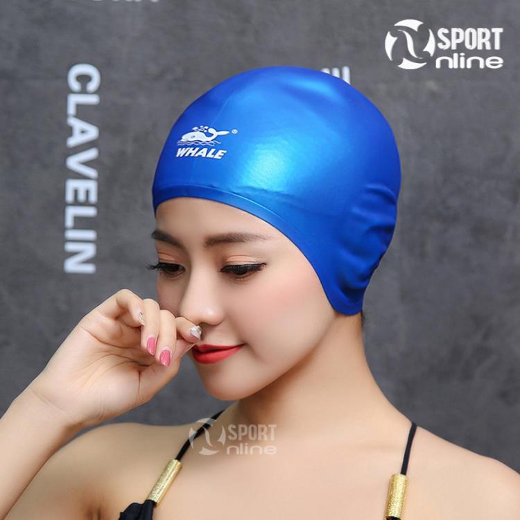 mũ bơi che tai cá heo