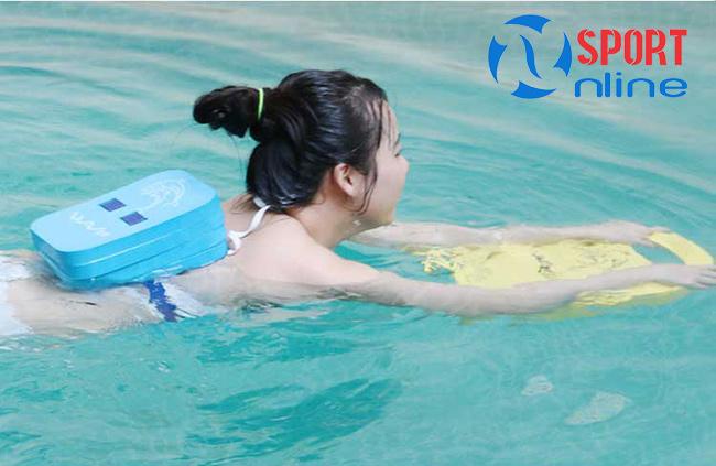 Phao lưng tập bơi trẻ em
