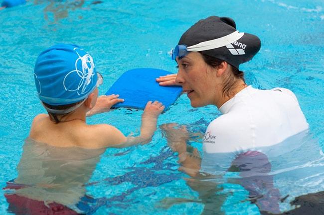 Phao ván tập bơi