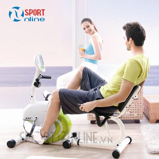 Xe đạp tập thể dục tăng cường sức khỏe toàn diện