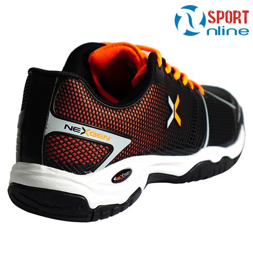 Giày tennis NX-16187 màu đen, cam