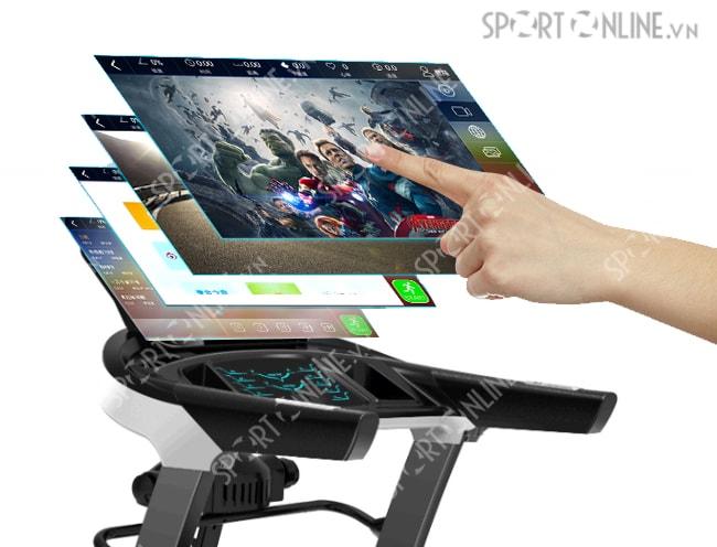 màn hinh của Máy chạy bộ điện Pro Fitness PF-116