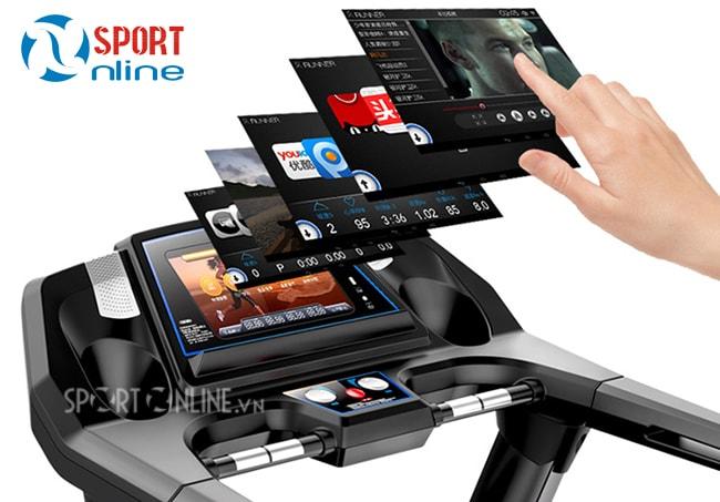 cảm ứng Máy chạy bộ điện Pro Fitness PF-115