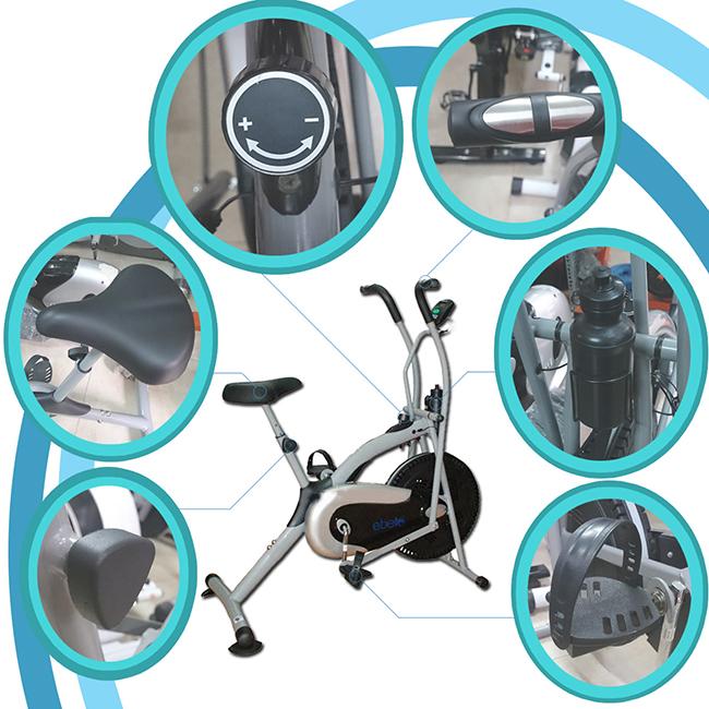 chi tiết Xe đạp tập thể dục ET-8.2I