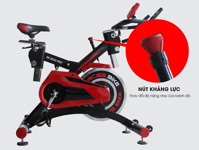 kháng lực xe đạp tập thể dục BK 3000 PRO