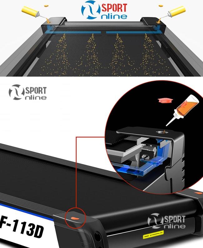 hệ thống tra dầu tự động Máy chạy bộ điện PF-113D