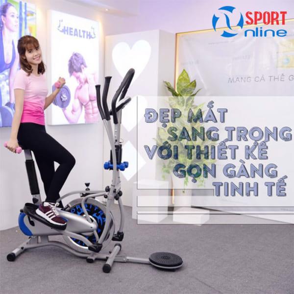 xe đạp tập thể dục K2085