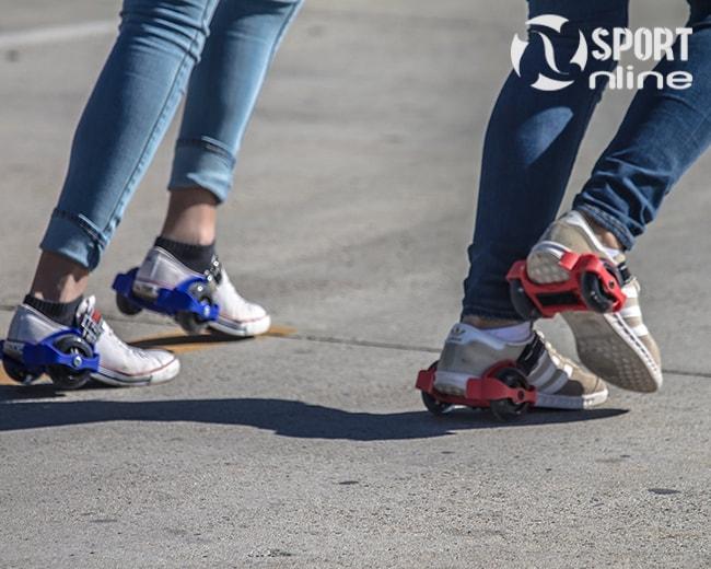 giày trượt patin Flashing Roller 2 bánh