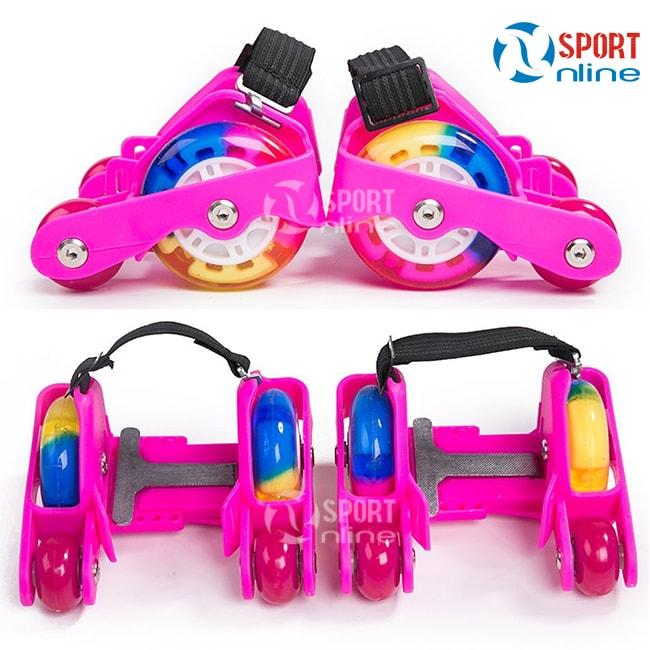 giày trượt patin Flashing Roller 4 bánh