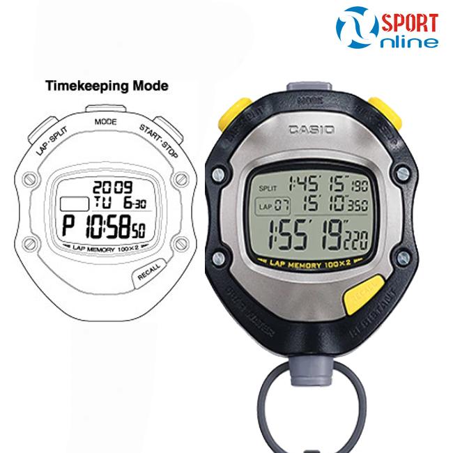 Đồng hồ bấm giây Casio HS-70W