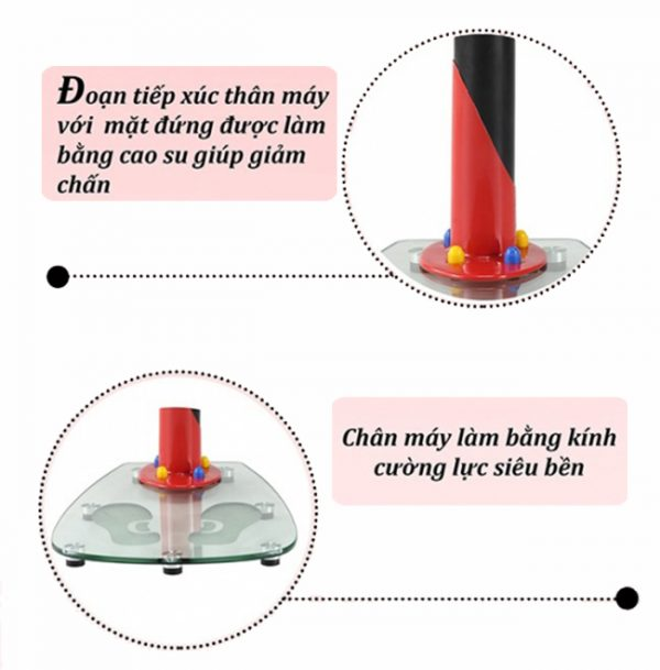 Máy massage chân kính MHQ-300S