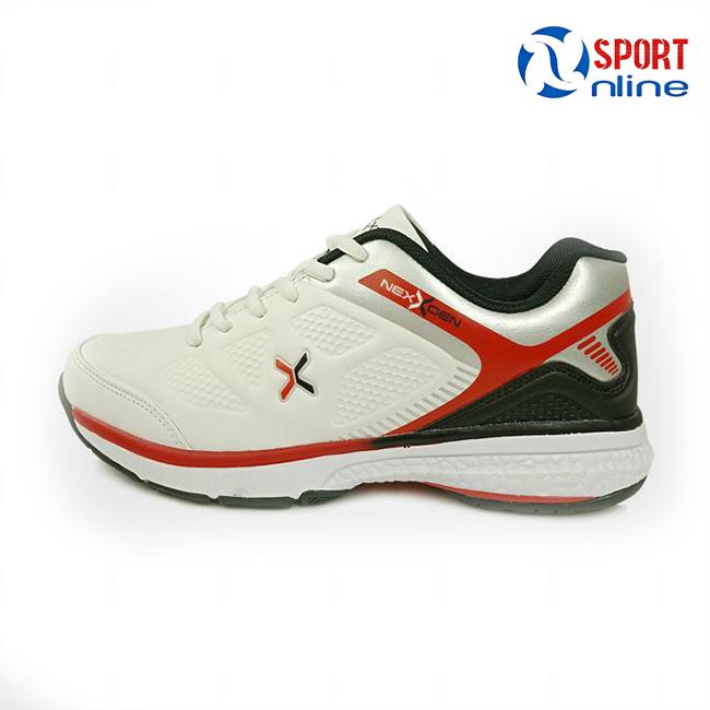 Giày tennis Nexgen NX-17541 màu trắng - đỏ