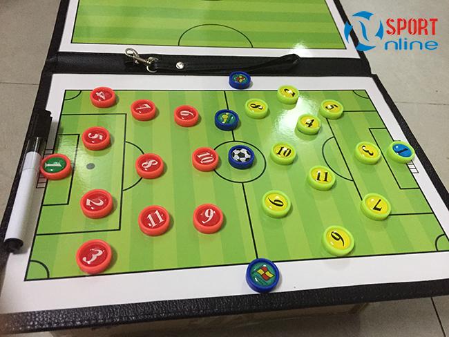 sa bàn chiến thuật bóng đá có quân nhựa
