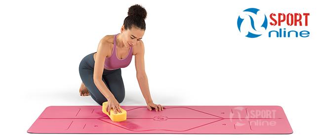 Cách vệ sinh thảm Yoga Liforme