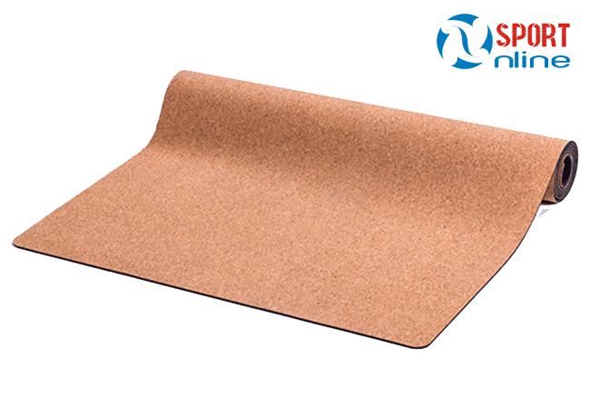 Thảm tập Cork Yoga Mat bề mặt trên