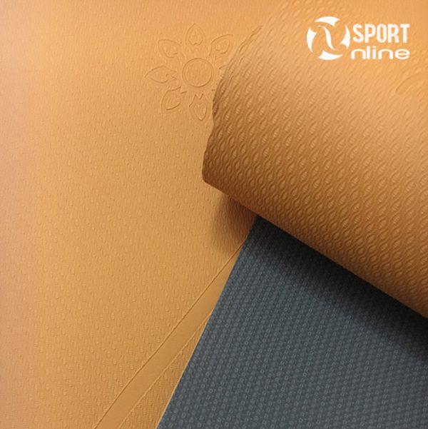 bề mặt Thảm tập yoga định tuyến Zen Master