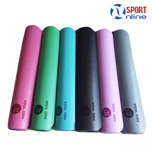 Thảm tập Yoga Pido các màu sắc