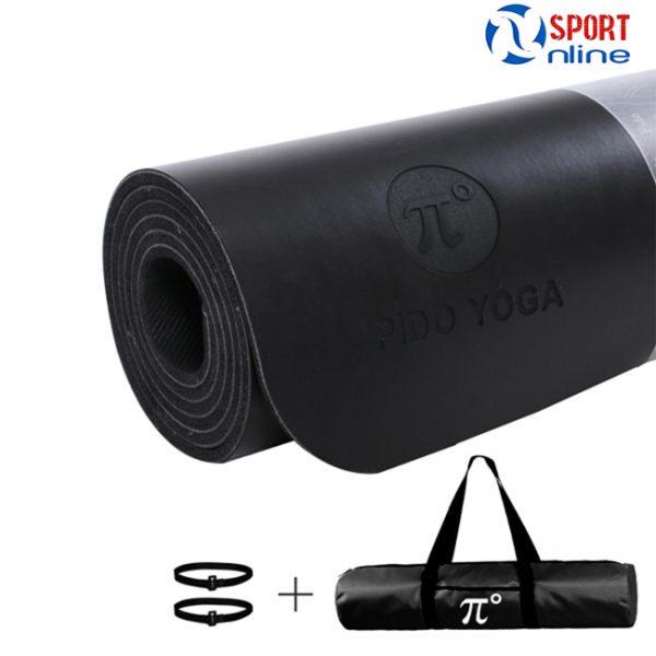 Thảm tập Yoga Pido màu đen