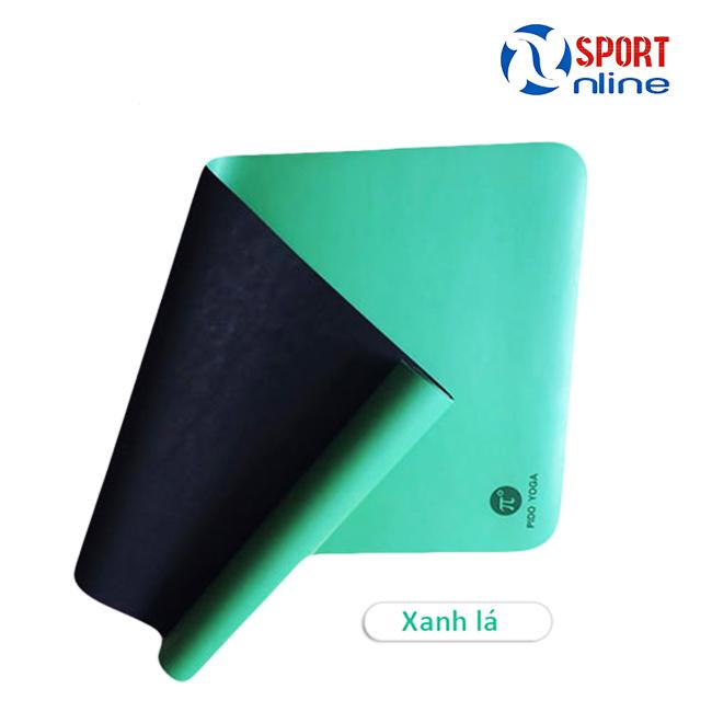 Thảm tập Yoga Pido xanh lá