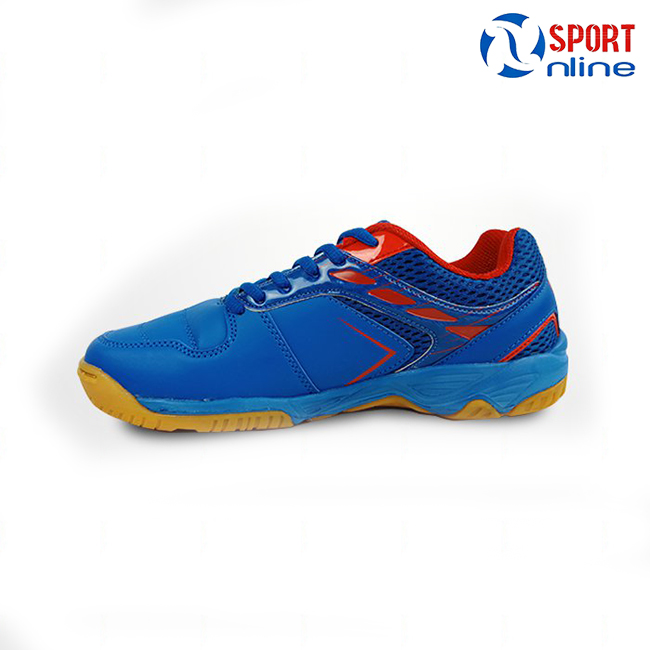 giày cầu lông Promax PR-18018 Màu xanh bích phối đỏ