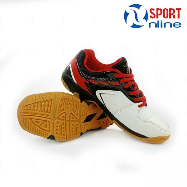 giày cầu lông Promax PR-18018 Màu trắng phối đỏ