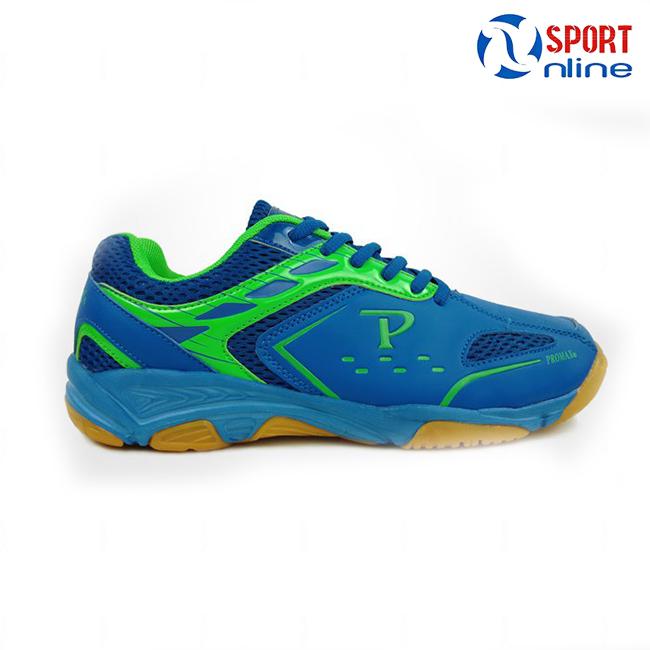 Giày cầu lông Promax PR-18018 màu xanh-chuối