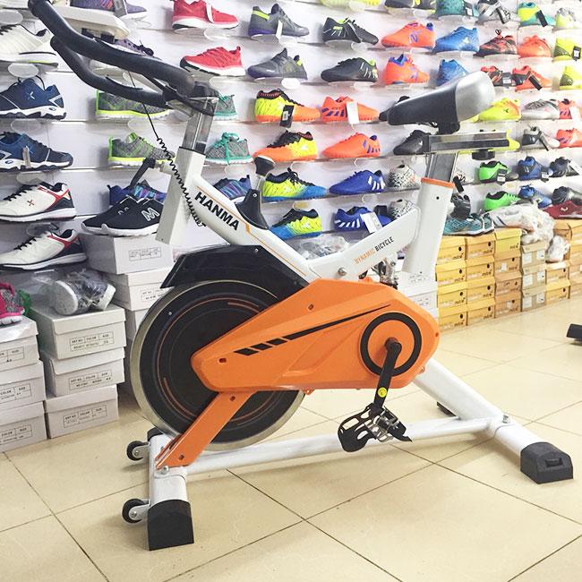 xe đạp tập thể dục JST-615 thực tế