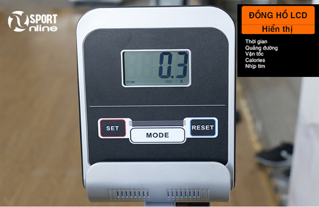 đồng hồ của Xe đạp phục hồi chức năng YD-656
