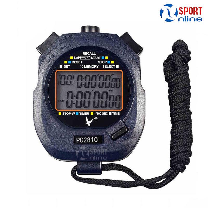 Đồng hồ bấm giờ PC2810 10LAP