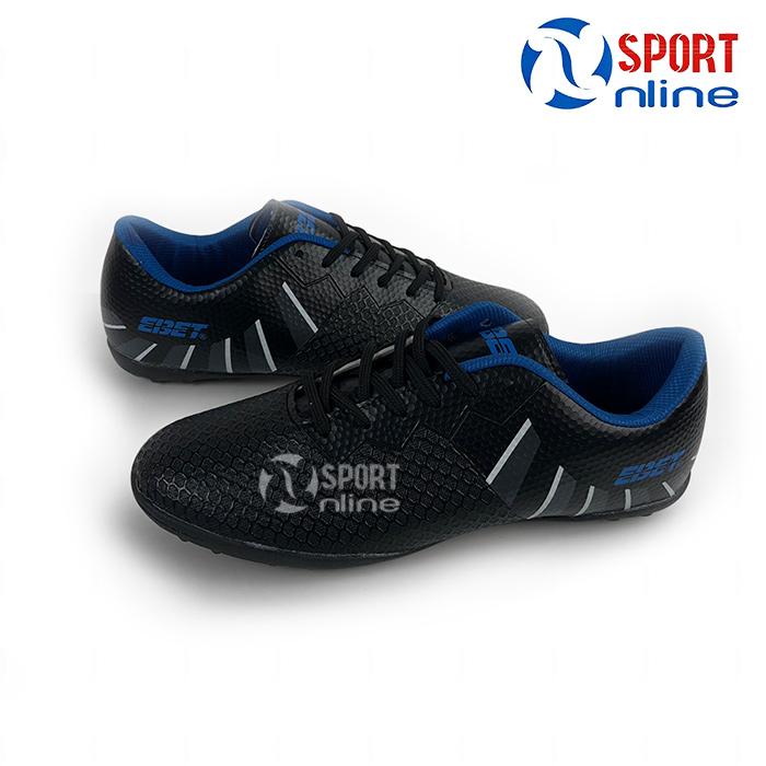 giày bóng đá EBET EB-206N màu đen xanh