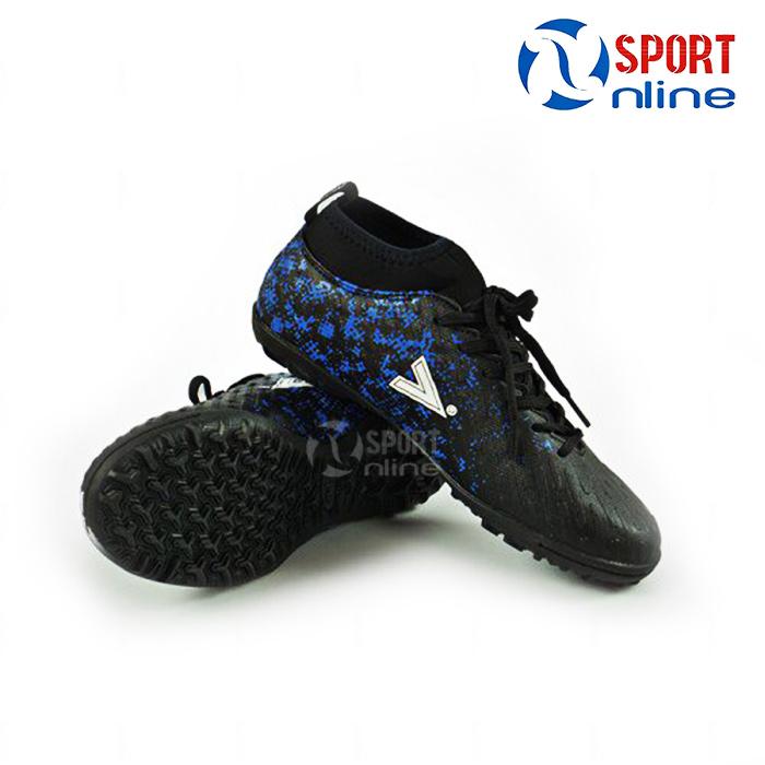 Giày bóng đá Mitre MT-170501 Black - Blue