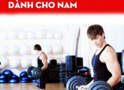 lịch tập gym giảm cân dành cho nam