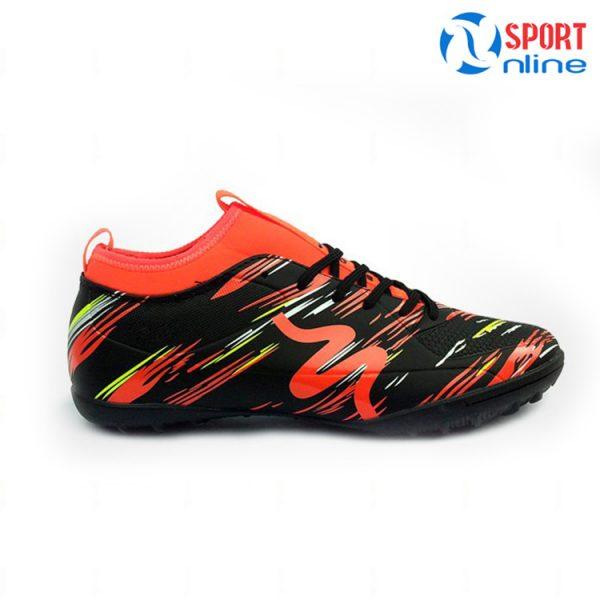 Giày bóng đá MITRE MT-160930 màu đen cam