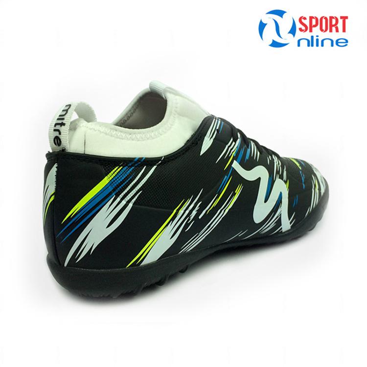 Giày bóng đá MITRE MT-160930 màu đen trắng