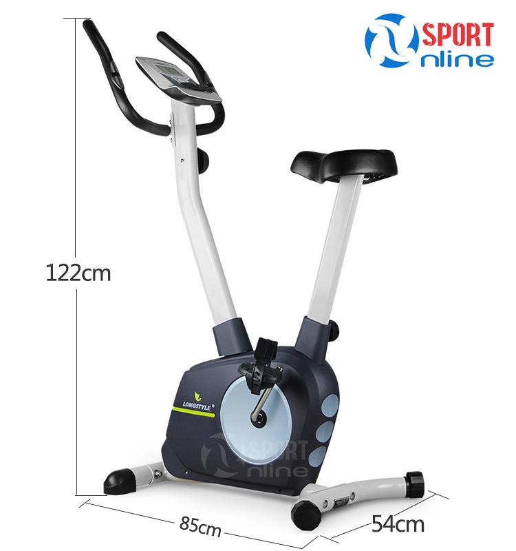 kích thước sử dụng của Xe đạp tập thể dục BC 66030
