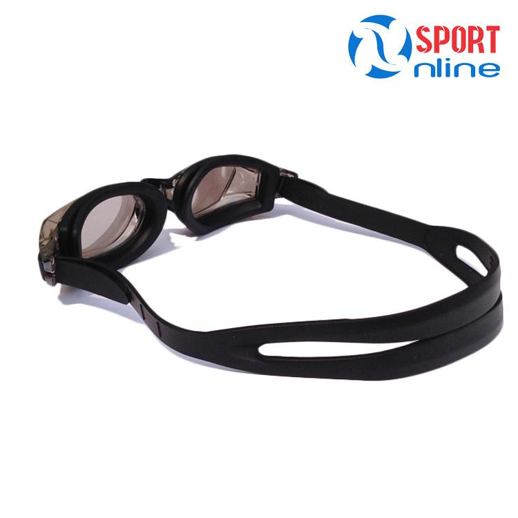kính bơi tráng gương Aryca WG821D màu đen