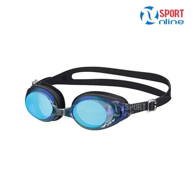 Kính bơi phản quang View V610MR BKBL